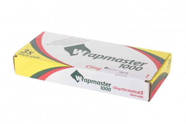 PE Frischhaltefolie für Wrapmaster 1000, 30 cm x 100 m