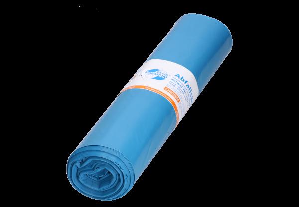 DEISS PREMIUM PLUS Müllsack 120 Liter, Type 60, blau