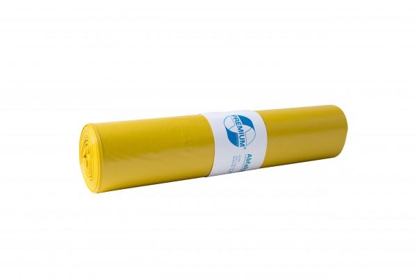 Premium Abfallsack, 120 l, gelb