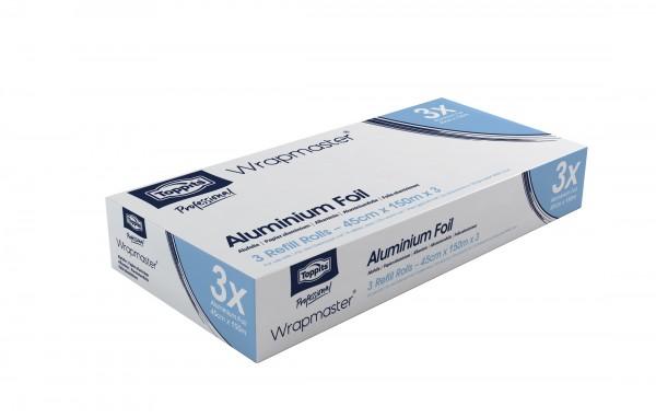 Aluminiumfolie für Wrapmaster 4500, 45 cm x 150m