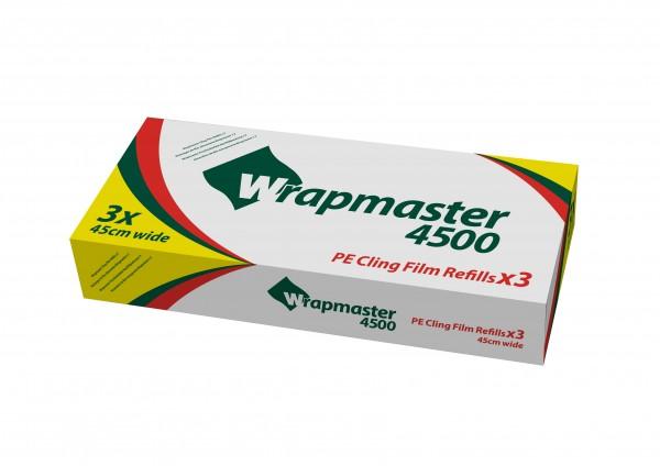 PE Frischhaltefolie für Wrapmaster 4500 und Wrapmaster Duo, 45 cm x 500