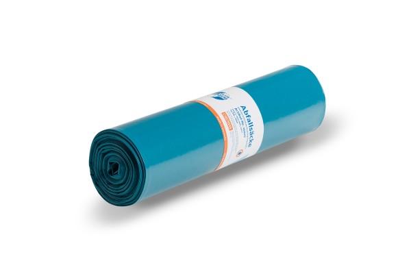 """DEISS PREMIUM PLUS Müllsack 120 Liter, blau , """"Der Allrounder"""""""