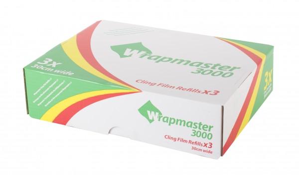 PVC Frischhaltefolie für Wrapmaster 3000, 30 cm x 600 m