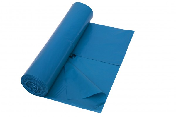 PREMIUM Abfallsack, 100µ, 120 Liter, blau