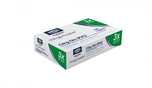 PVC Frischhaltefolie für Wrapmaster 3000, 30 cm x 300 m